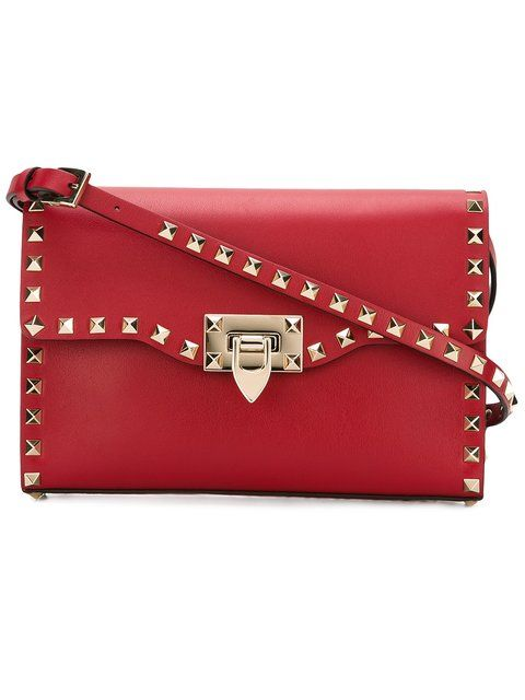 d054c266e9 VALENTINO Medium Valentino Garavani Rockstud Crossbody Bag.  valentino  bags   shoulder bags  leather  crossbody