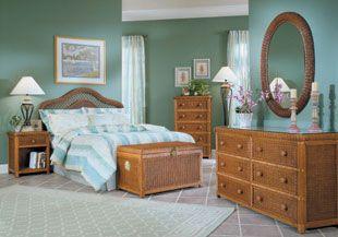 Wicker Bedroom Furniture | Must Haves | Pinterest | White wicker ...