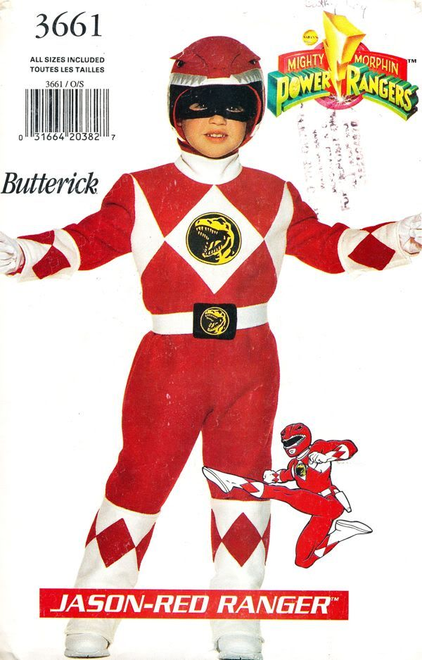 888a0dbe0a Costume - Mighty Morphin Power Rangers - Jason -Red Ranger! Size 4-5