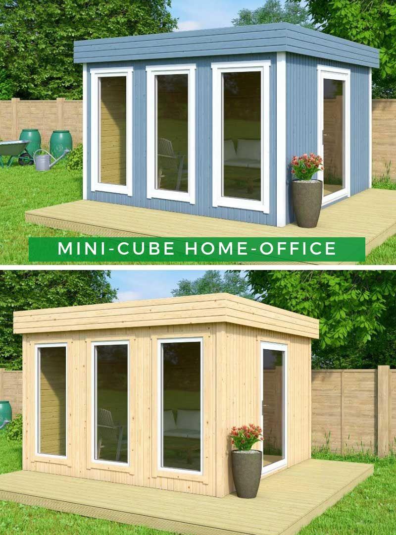 MiniCube HomeOffice Gartenhaus, Gartenhaus farbe und