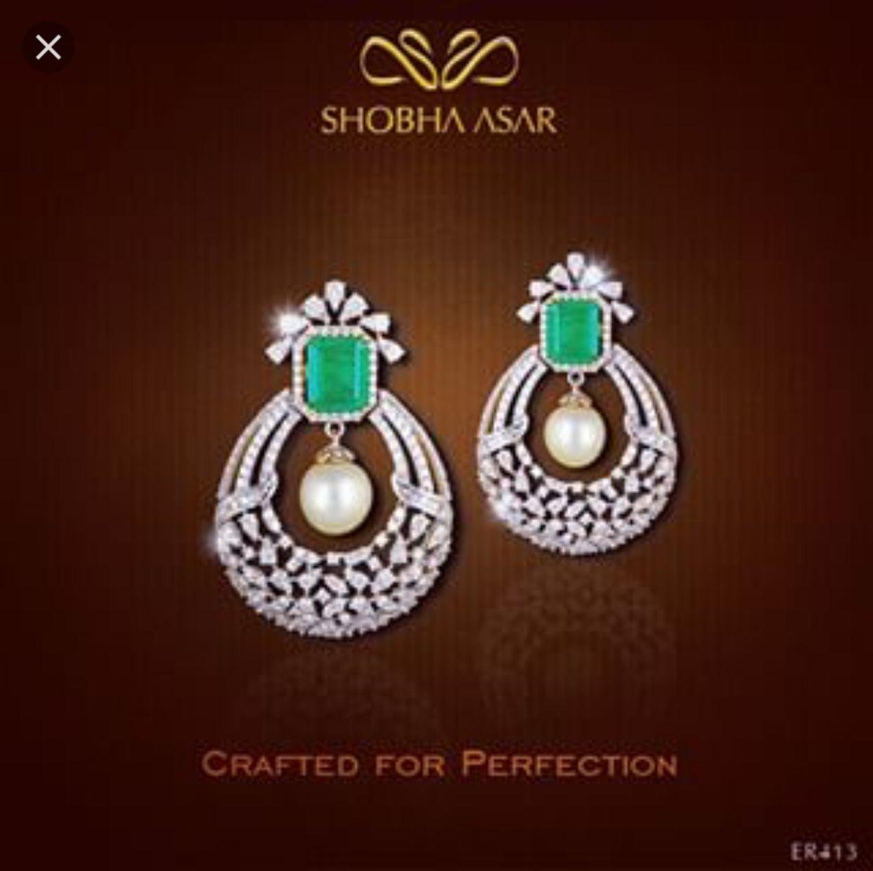 Pin by Vaishali Shah on Shobha Asar | Pinterest | Diamond, Indian ...