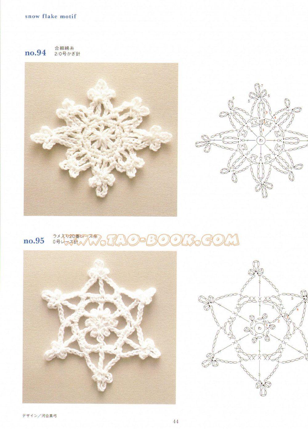 Estrella copo | Ganchillo | Pinterest | Navidad, Carpetas crochet y ...