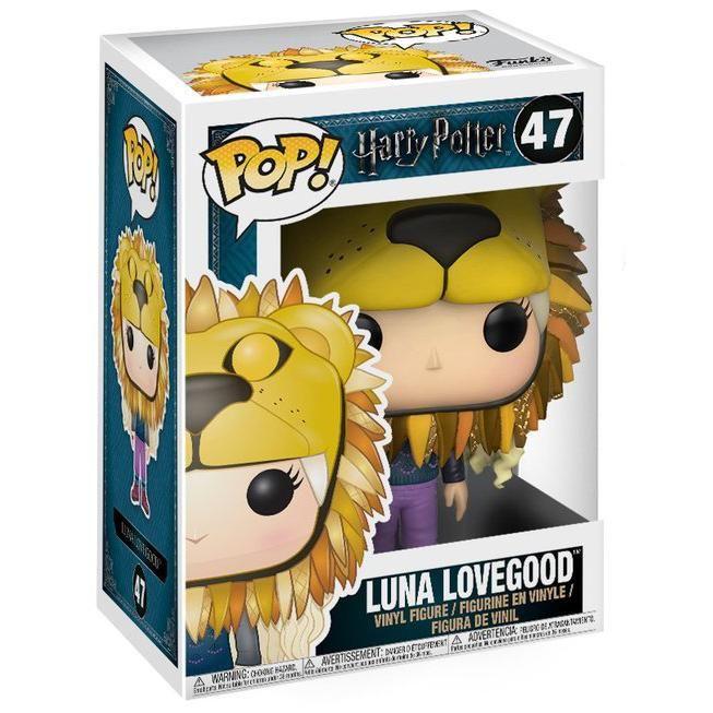 Luna Lovegood Avectête De Lion Funko Pop N 47 Wishlist