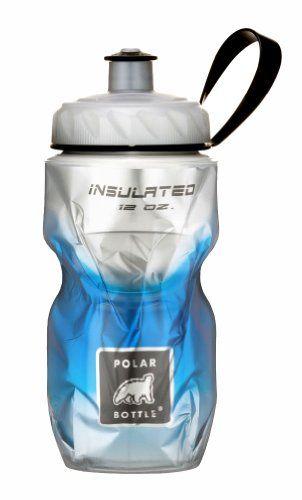 Polar Bottle Insulated Water Bottle Blue Fade 12 Ounce Polar