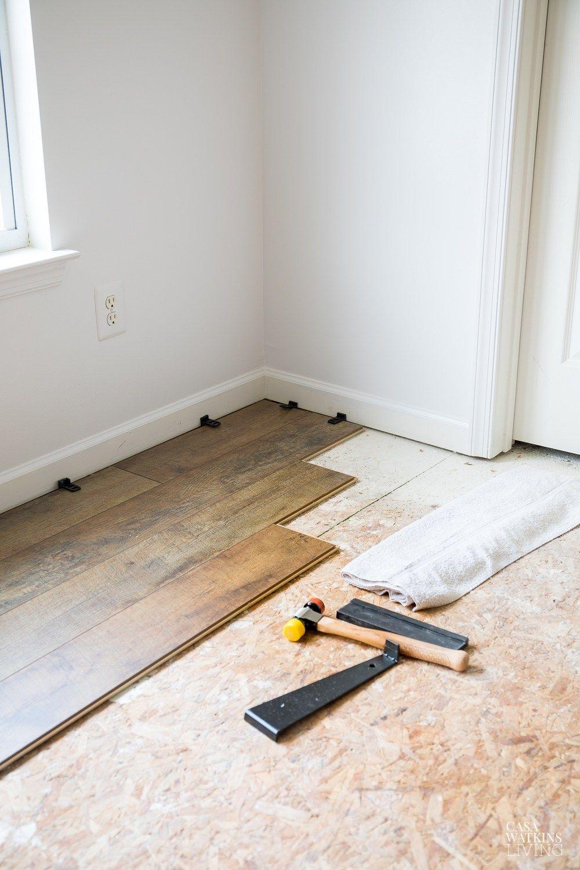 5 Tips To Install Laminate Flooring Like A Pro In 2020 Installing Laminate Flooring Laminate Flooring Floor Installation