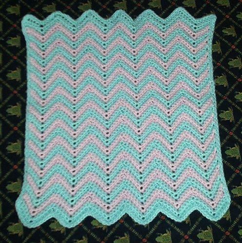 Ravelry Baby Ripple Afghan Pattern By Tiffany Roan Crochet