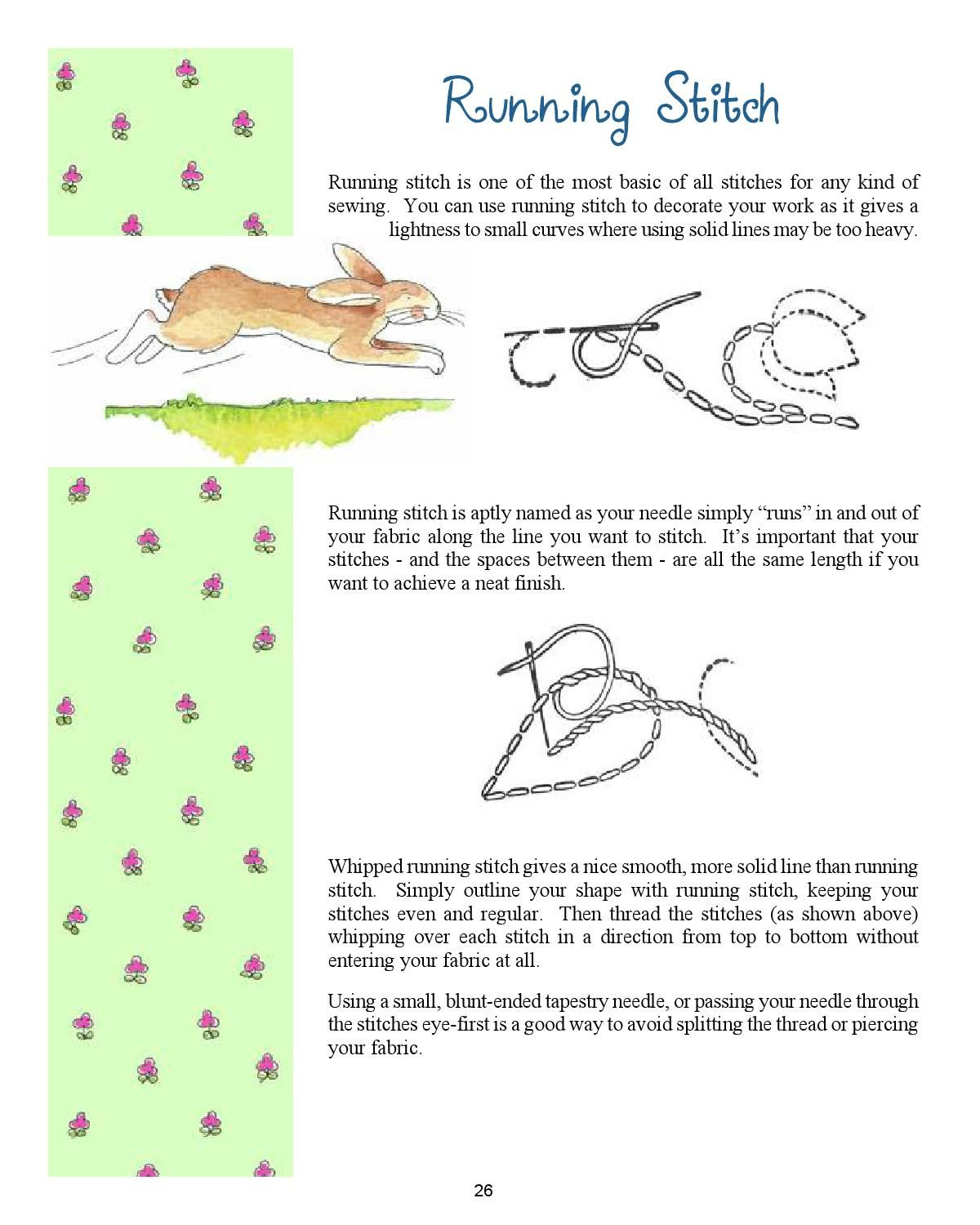 Simple Stitchery A Little Embroidery Primer