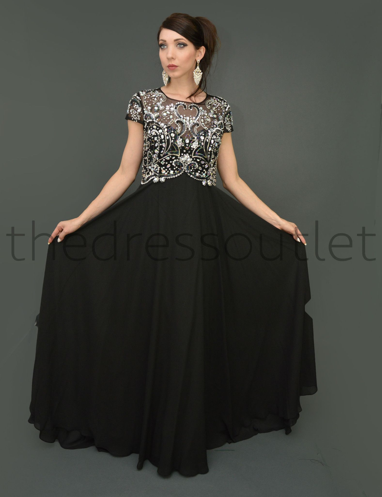 Mother of the bride groom plus size formal long vintage gown