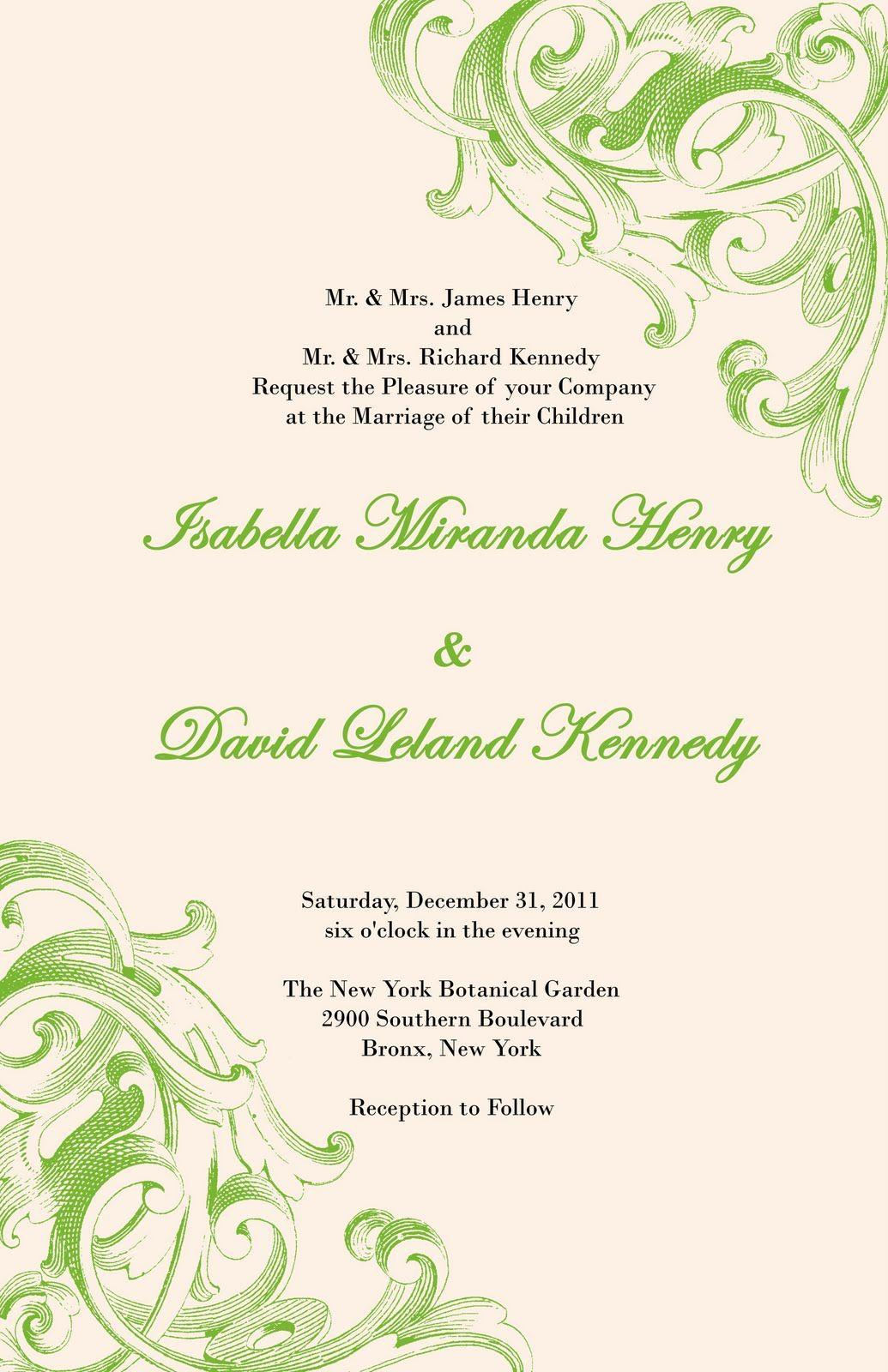 Elegant And Beautiful Wedding Invitations For Free Victorian Style Invitation Design: Victorian Elegant Wedding Invitations At Reisefeber.org