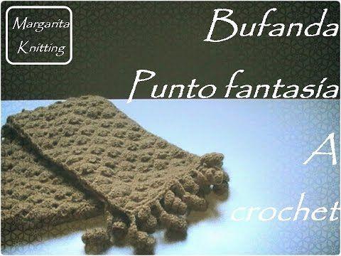 Patrones gratis de bufandas tejidas | Manualidades | Crochet ...