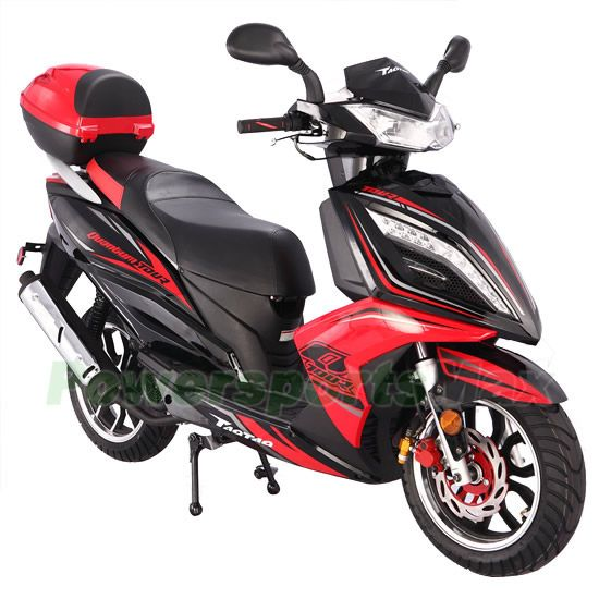150cc Gas Power Scooters 150cc Moped Scooter With Cvt Fully