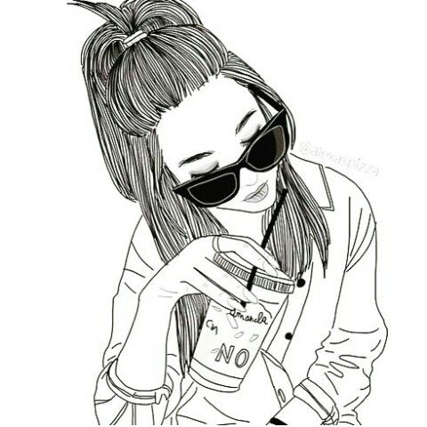 Explore Girl Drawings, Hipster Drawings and more!