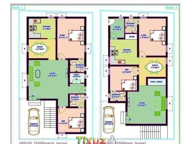 North Facing House Plans Sensational Design X Duplex East Vastu Plan Nara South On Home Sample 2 For 30x40 2bhk House Plan 30x40 House Plans Indian House Plans
