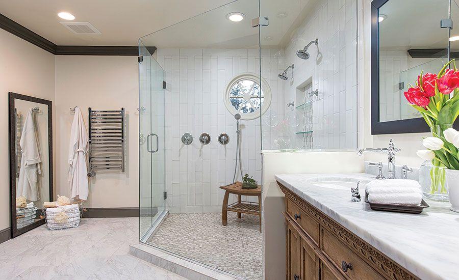 image result for earth tone tile bathrooms  tile bathroom