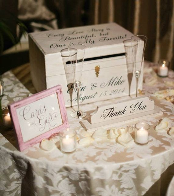 Large Wedding Card Box Cards Holder Every Love Story Is Beautiful – Large Wedding Card Box