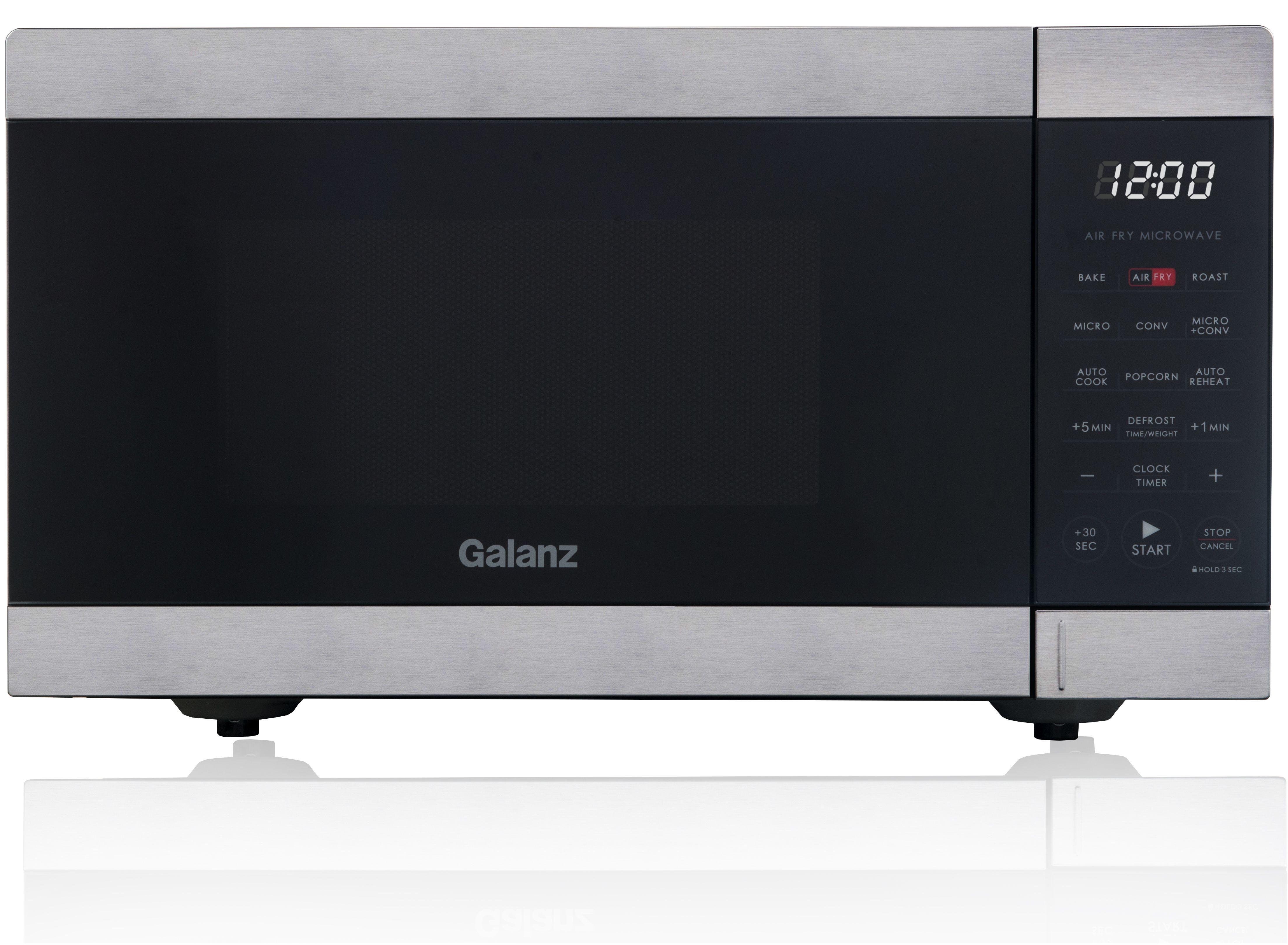 galanz 0 9 cu ft air fry microwave 900