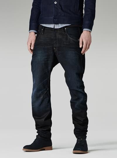 G STAR NEW RILEY 3D LOOSE TAPERED interesting fit. might