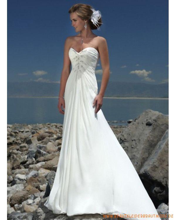 Brautmode fur strandhochzeit