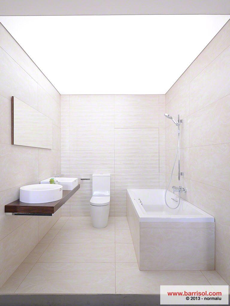Voor De Badkamers Willen We Een Rgbw Led Lichtplafond Zal Door