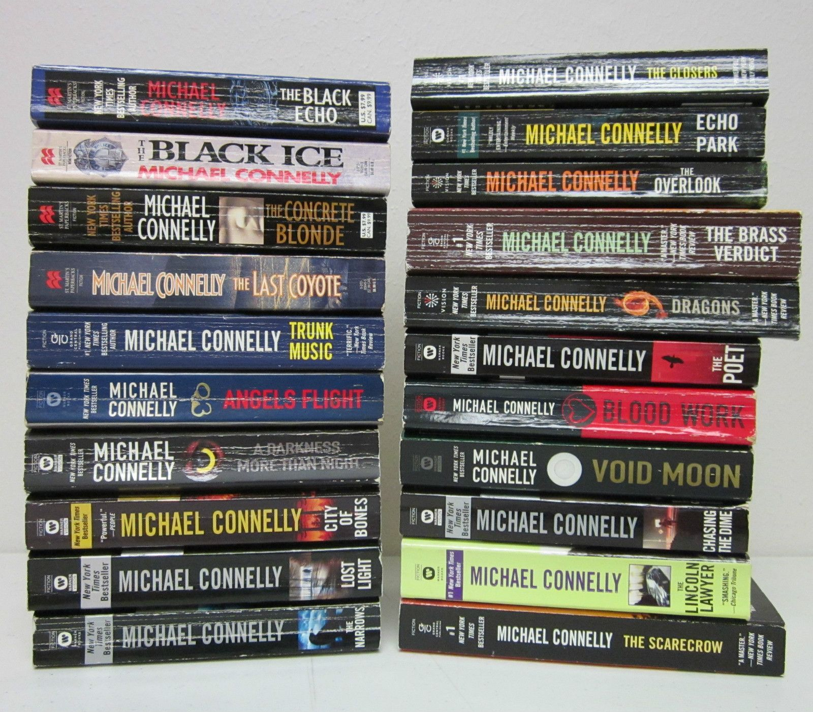 Michael connelly the harry bosche series best to read