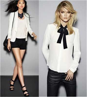 I want pretty: Trend- Black & White!