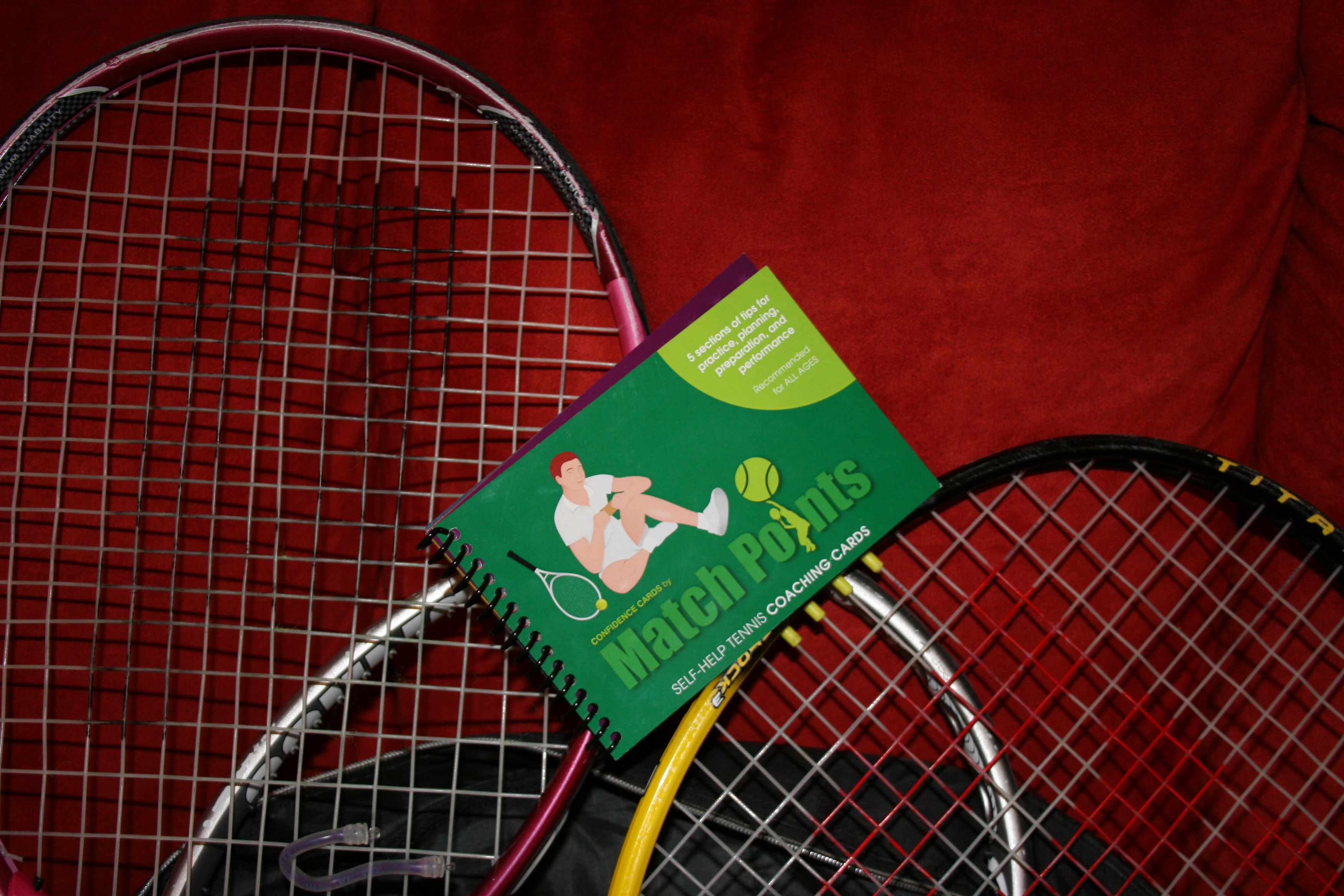Confidence Cards By Match Points Www Confidencecards Com Self Help Tennis Coaching Cards Tennis Coach Tennis Match Point