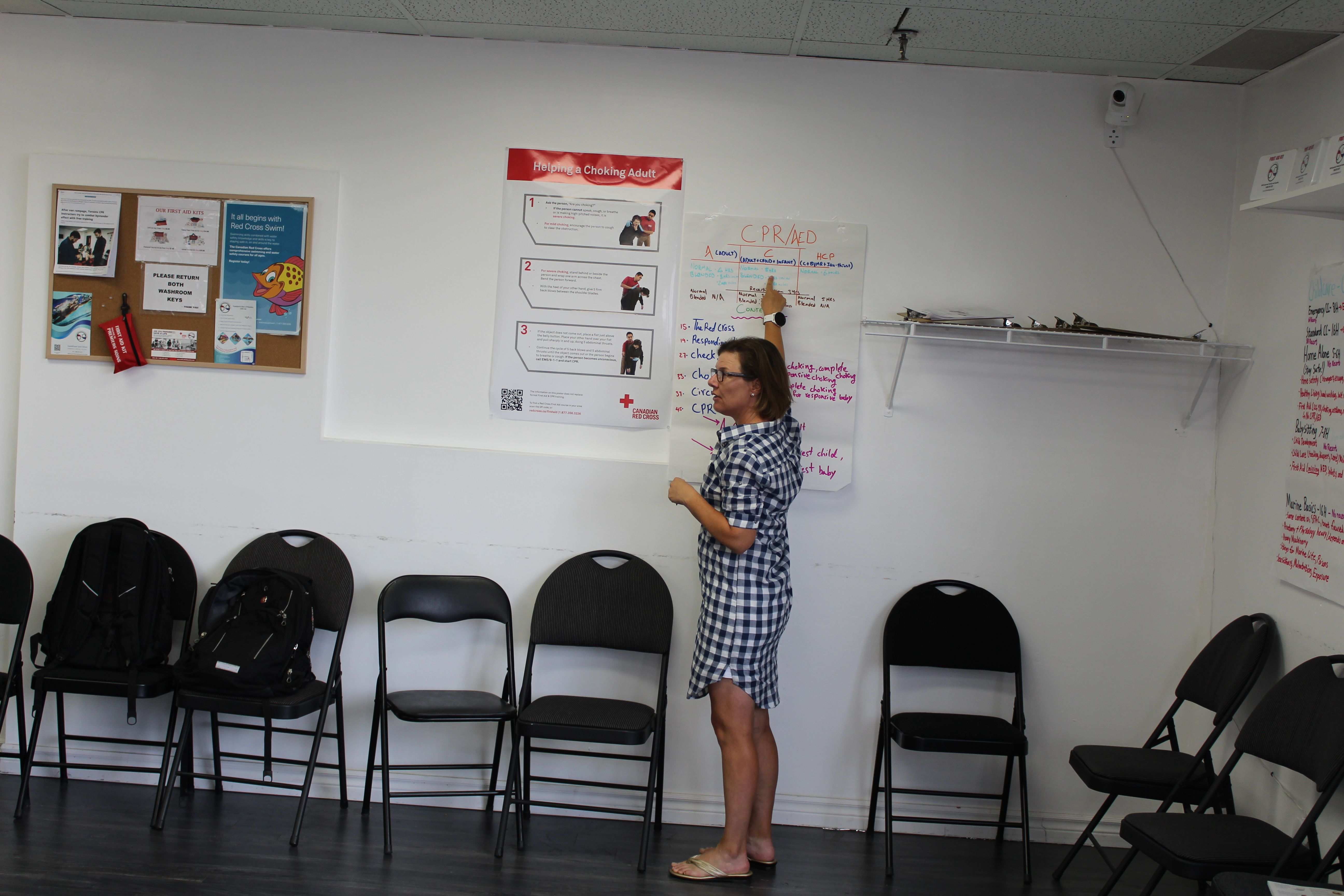 Canadian Red Cross Instructor Development courses train ...