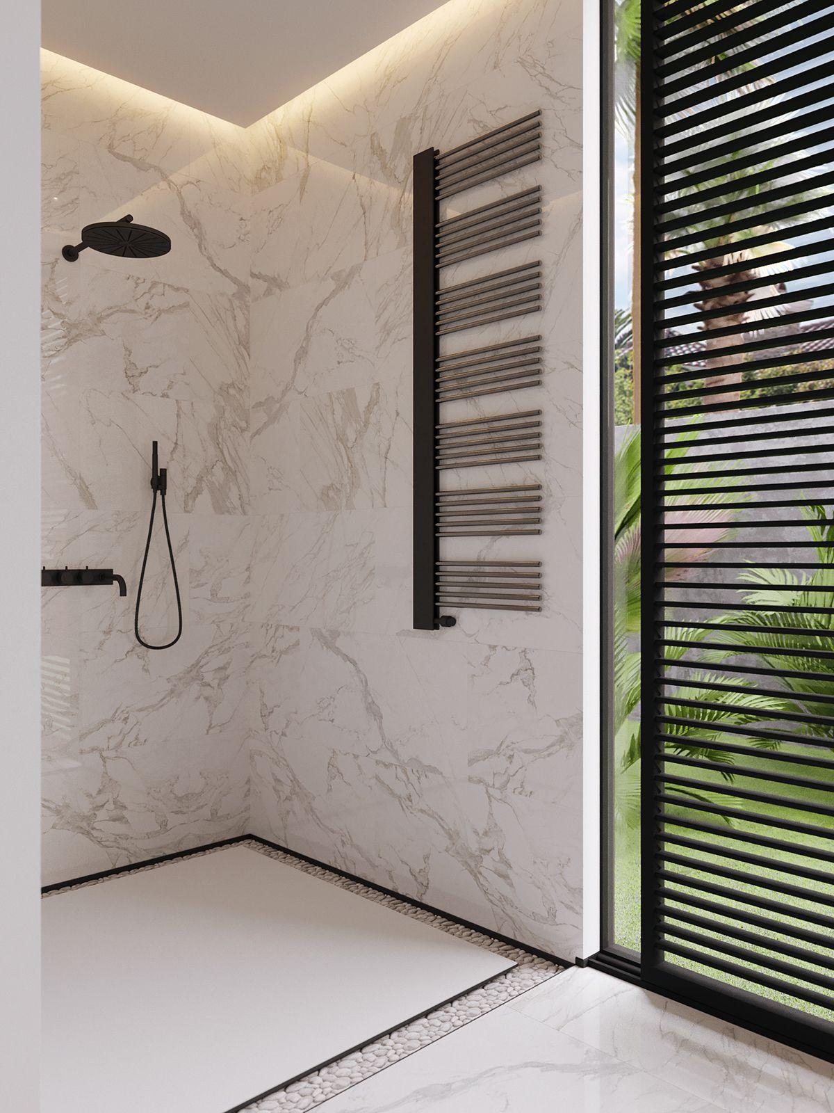 California S Residence On Behance Bathroom Remodel Pinterest  # Muebles Kowalczuk