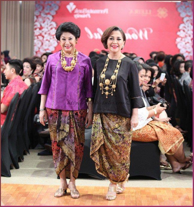 aneka model baju batik kombinasi  Kebaya  Pinterest  Model baju