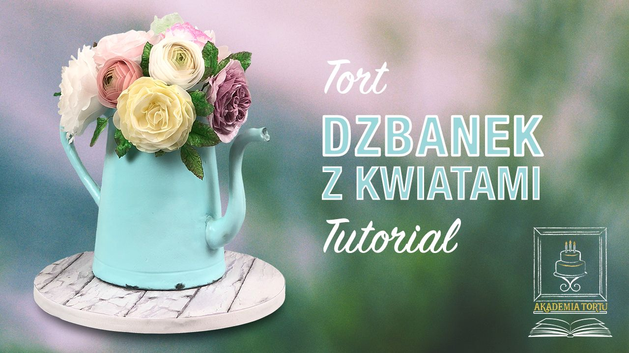 Tort Dzbanek 3d Z Kwiatami Z Papieru Waflowego Akademiatortu Pl Nutribullet Blender Blender Nutribullet