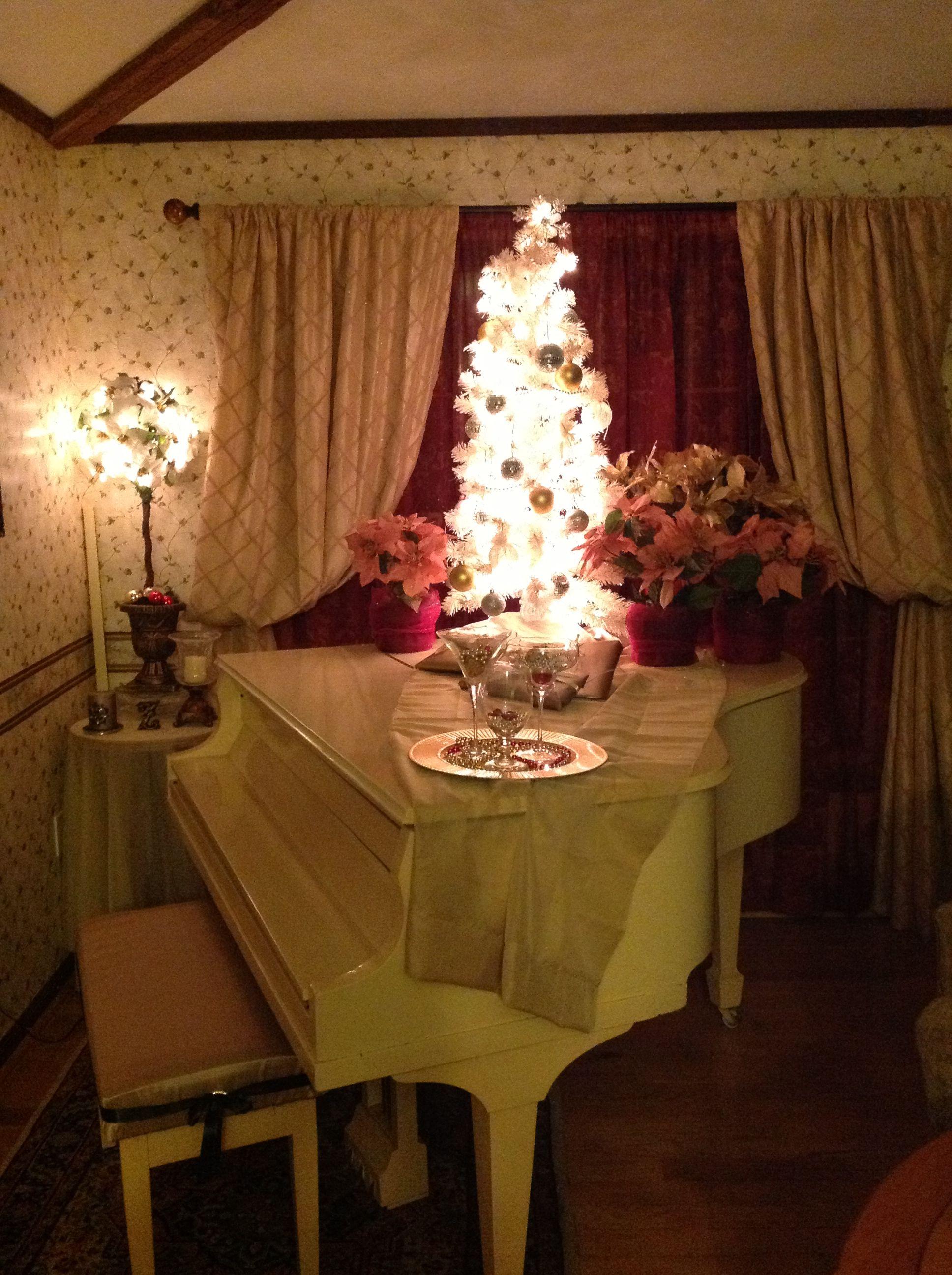 Baby Grand Piano Christmas 2013 Christmas Pinterest