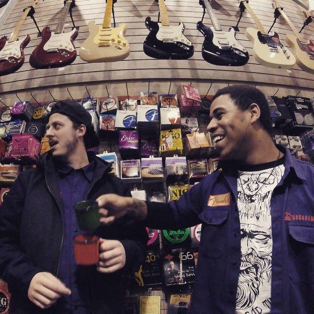 #cafeDas18 na Garagem é só alegria!