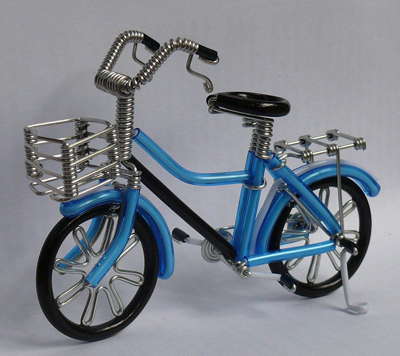Metal Wire Gift Art Handmade Road Bike Christmas Ornament
