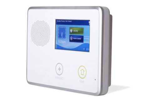 2gig Go Control Touchscreen Panel Protectus Security Alarm Systems For Home Home Security Systems Wireless Home Security Systems