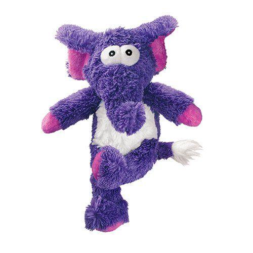 Kong Cross Knots Plush Squeaky Dog Chew Toy Elephant Amazon Co Uk Pet Supplies Plush Dog Toys Plush Dog Dog Toys