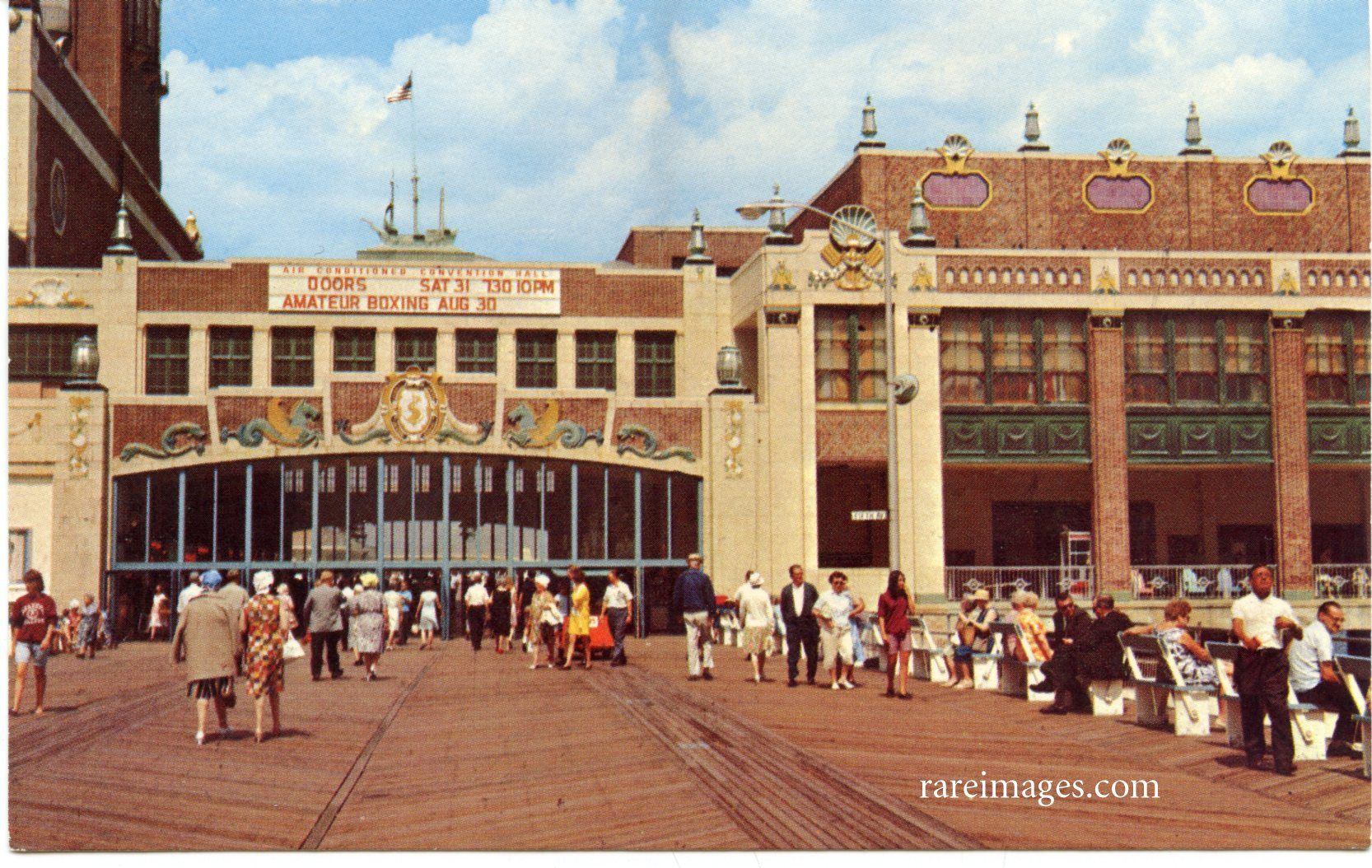 The Doors At Convention Center Asbury Park Nj C 1950 Asbury Park Nj Asbury Park Ocean Grove