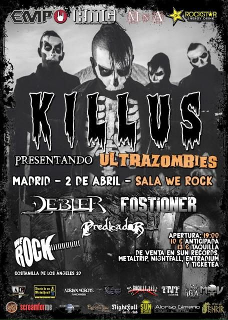 Killus en Madrid