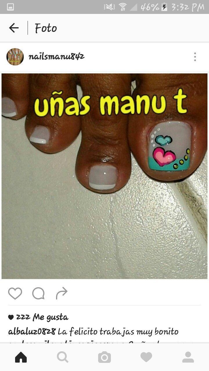 Pin de Camila Acevedo en uñas | Pinterest | Manicuras, Arte de uñas ...