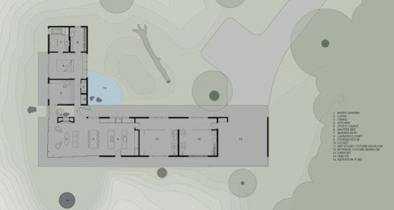 Dise o de casa de campo econ mica y moderna construye una for Distribucion de una casa