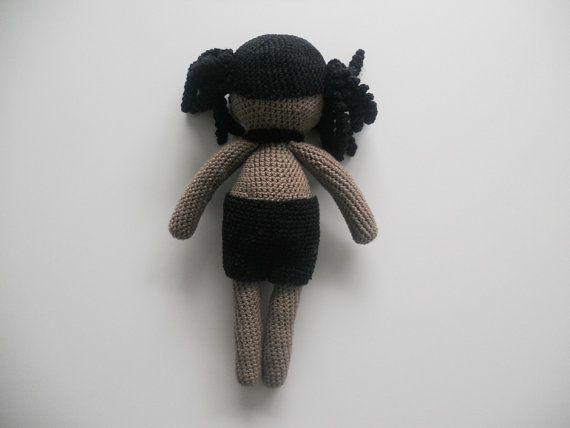 Crochet pattern doll Lili the doll par CountSheepShop sur Etsy