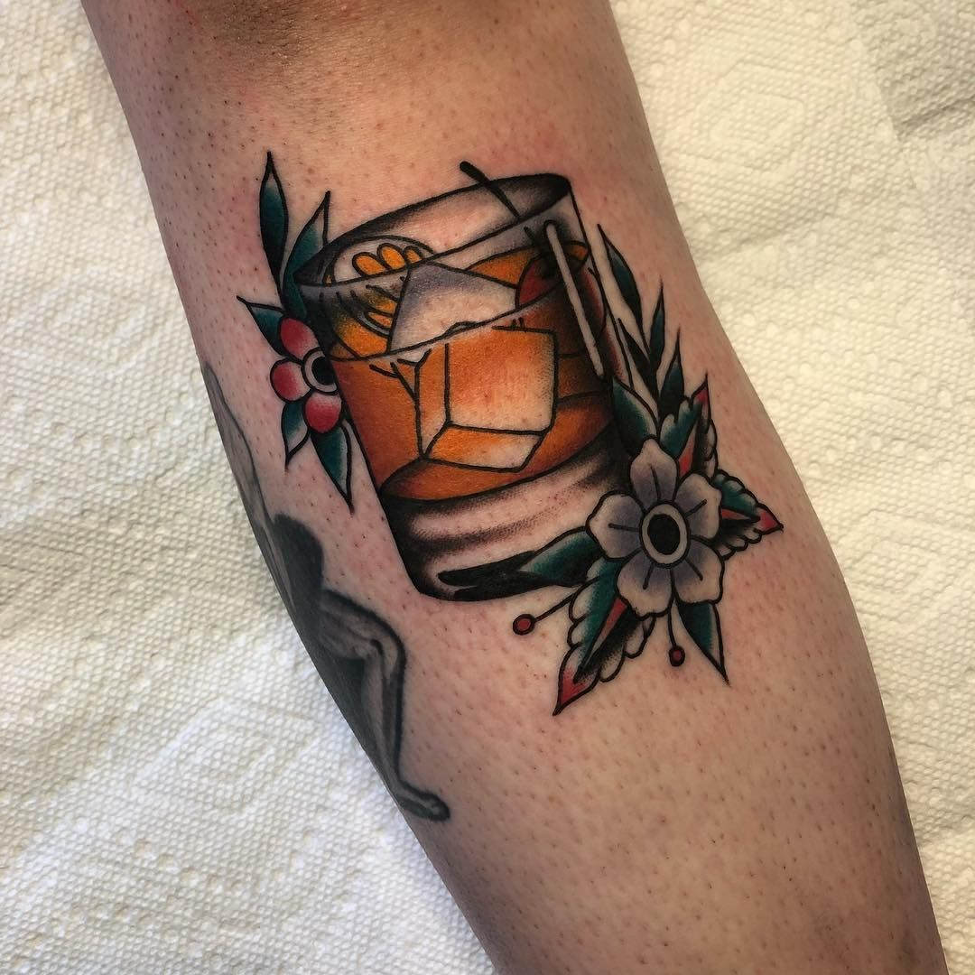 """Joakim """"Joa"""" Rosenberg on Instagram: """"Drink choice of the evening, old fashioned. Done @icontattoo have a good weekend everyone!"""""""