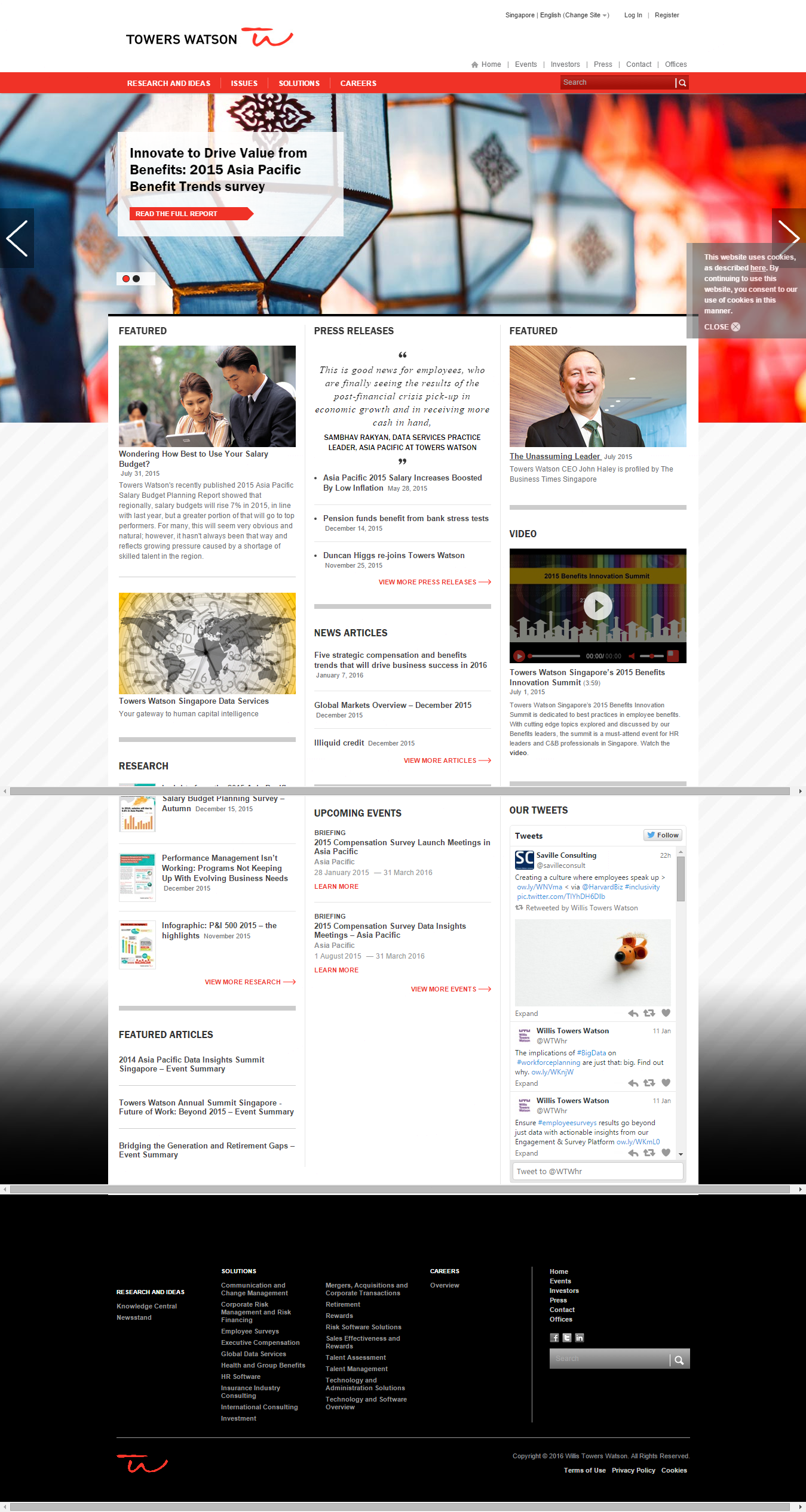 Cool Good Website Samples For Singapore Headhunter Employment