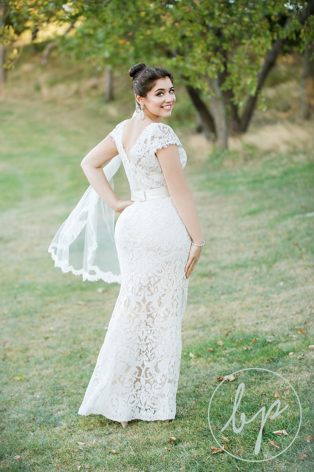 Country dresses for weddings  Bombshell bride Country Club wedding vintage lace dress