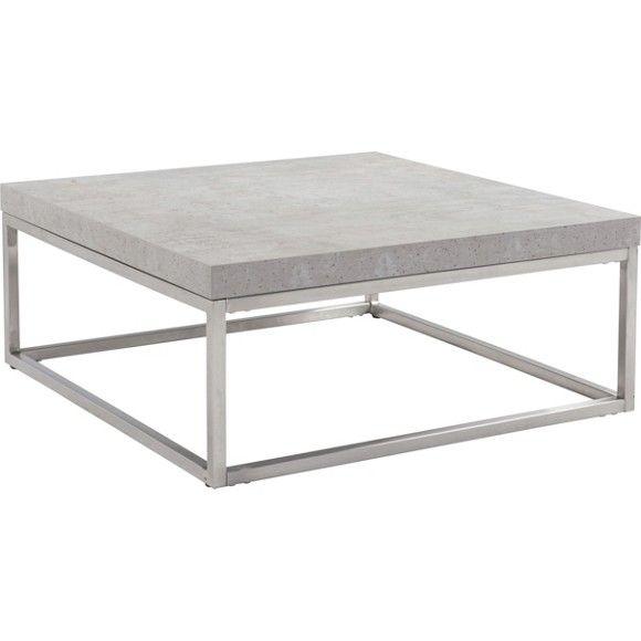 Die Extravagante Tischplatte Mit Einer Breite Von Ca. 80 Cm Beeindruckt In  Betonoptik Und Wird Besonders In Sachlichen Einrichtungen Zum Blickfang.