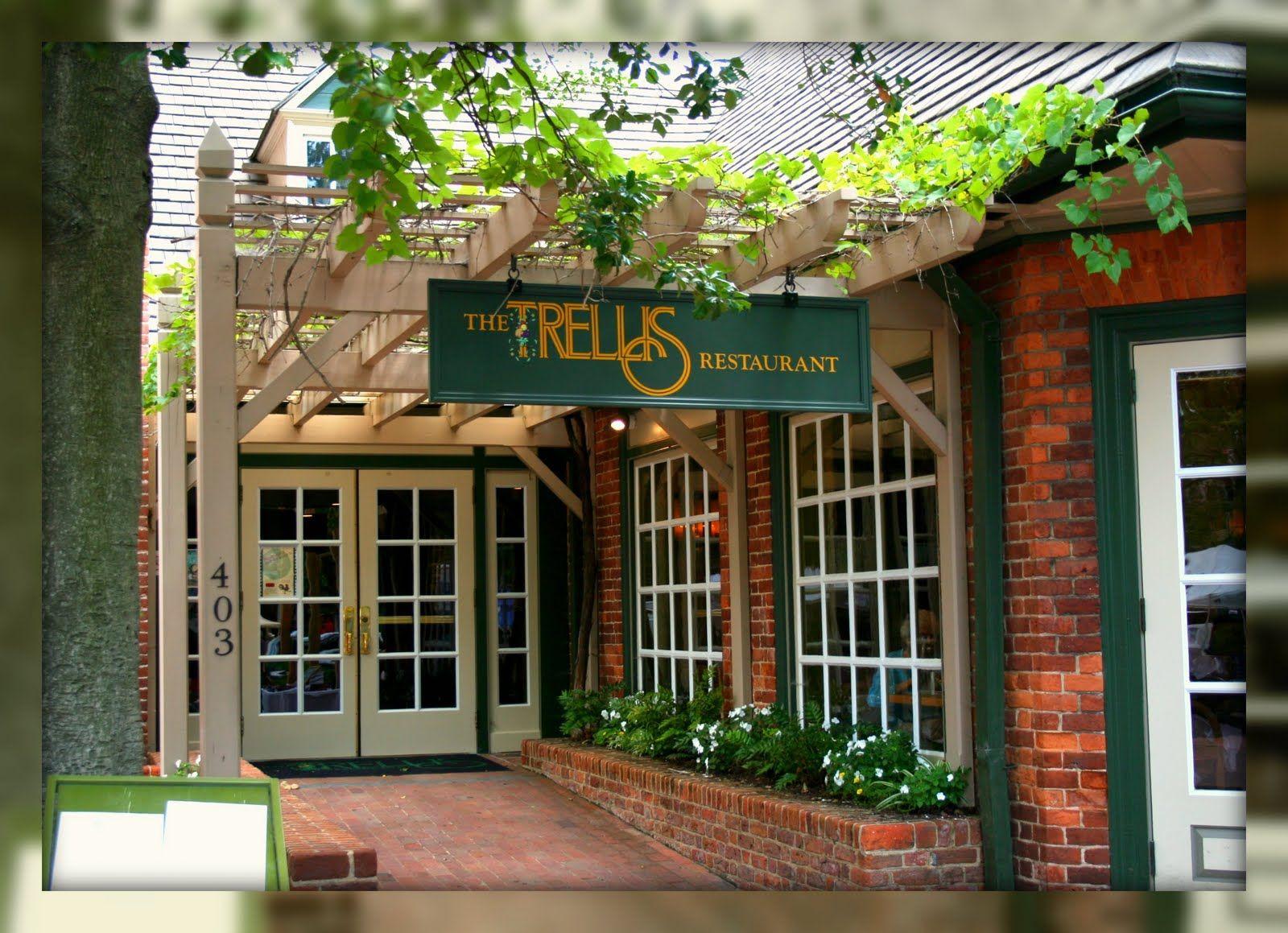 Living In Williamsburg Virginia The Trellis Restaurant