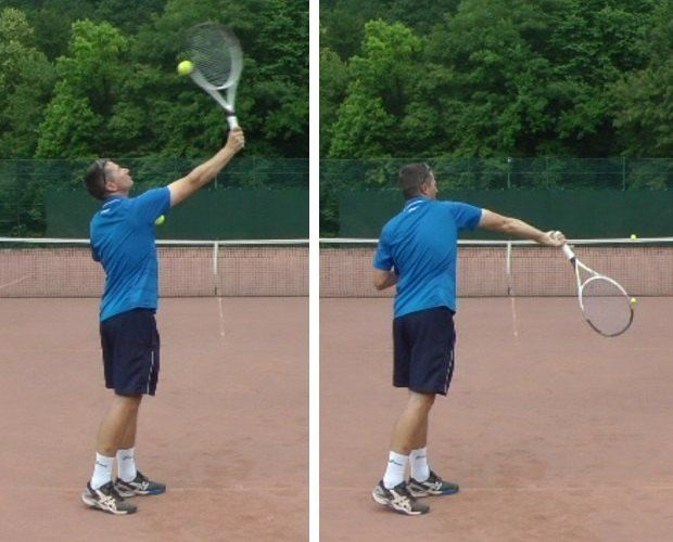 The Serve Pronation Technique And 7 Drills To Learn It Feel Tennis Tennis Tennis Techniques How To Play Tennis