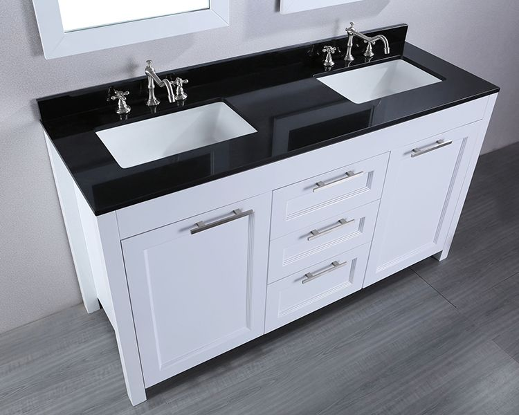 48 Inch Bathroom Vanity Double Sink With Images Contemporary