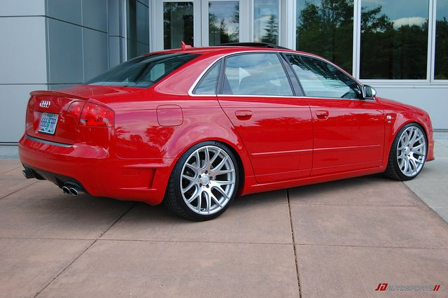 2007 S4 Dtm Package Red Audi Audi B7 Audi Wagon