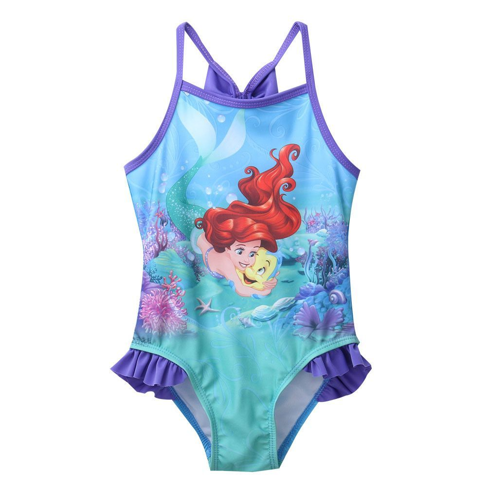 c3e50e3747 Girls Little Mermaid Swimsuit one piece bathing suit Material:  Polyester,Spandex