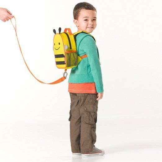 Toddler Leash Backpack Animals With Detachable Safety Harness Boys